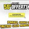 Bonus Parions Sport actuel de 50