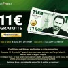 11 gratuit offert par party poker